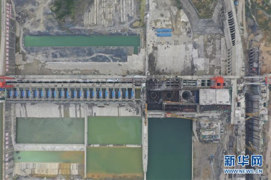 (经济)(1)广西大藤峡水利枢纽工程建设稳步推进