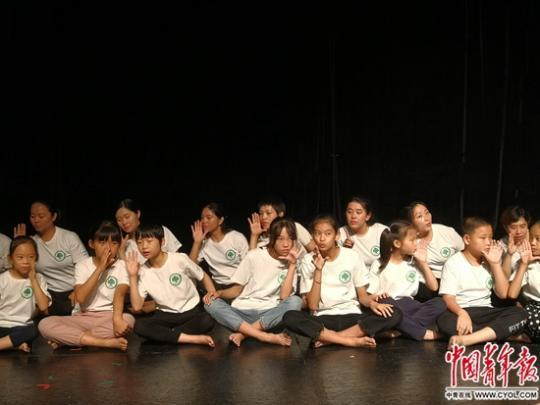 22名鄉村師生在舞台綻放引發的思考