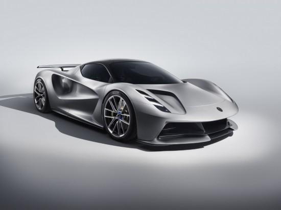 路特斯发布2000马力纯电动超跑Evija 3秒破百