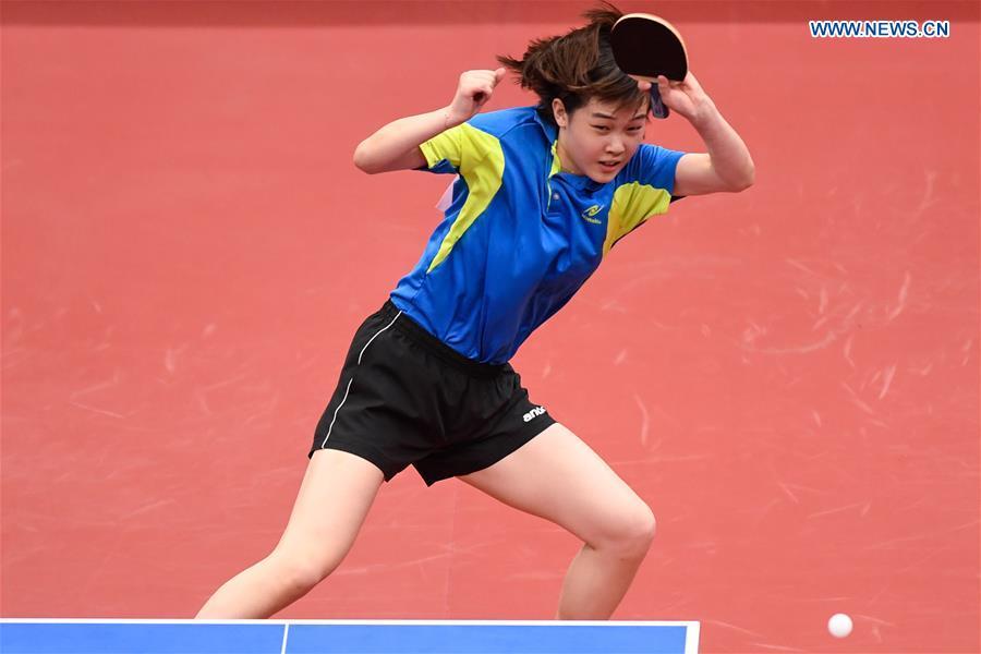 (SP)CHINA-SHANXI-TAIYUAN-2ND YOUTH GAMES-TABLE TENNIS (CN)