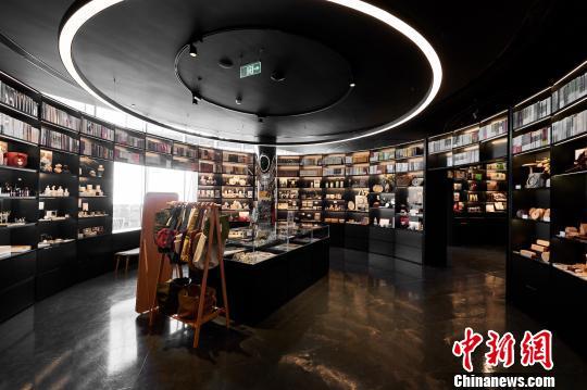 朵云书院上海中心旗舰店。
