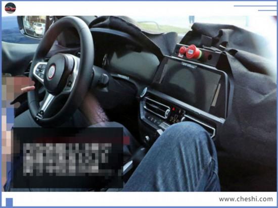 宝马新4系轿跑版谍照搭2.0T引擎/双门+溜背造型