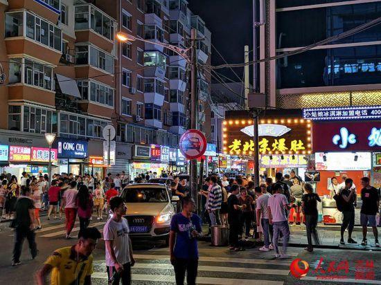 [网连中国]聚焦各地夜经济:下班后钱往哪里花