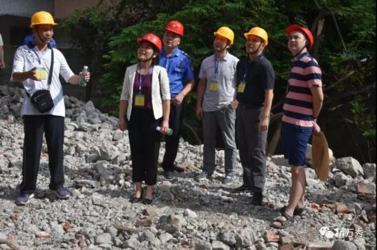深入拆迁现场 助力项目稳步推进