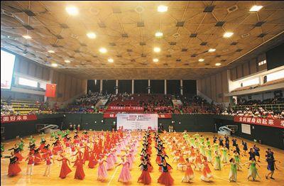 南通體育日提倡全民健身傳統項目最受追捧