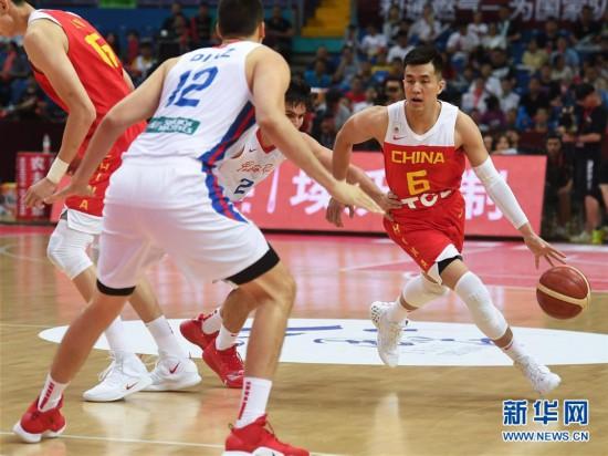 国际男篮锦标赛:中国队胜波多黎各队