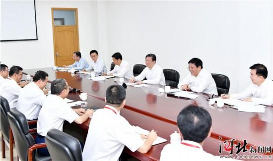 王东峰到中国电科十三所和五十四所调研