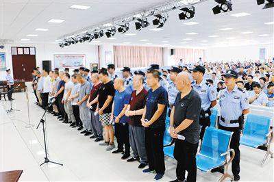 凤县法院开审17人涉黑案件
