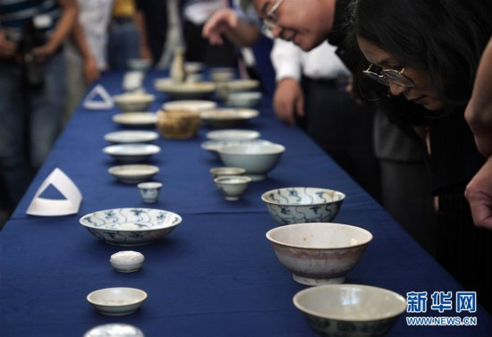 (文化)(5)190余件清代沉船瓷器入藏国博