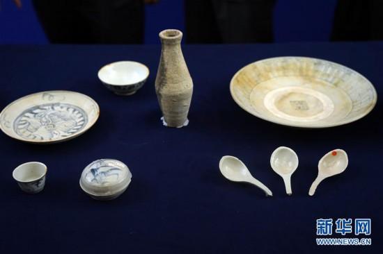 (文化)(6)190余件清代沉船瓷器入藏国博