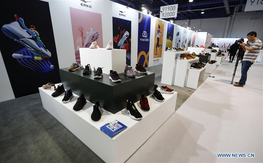 In pics: China Footwear Pavilion at Las Vegas MAGIC Show