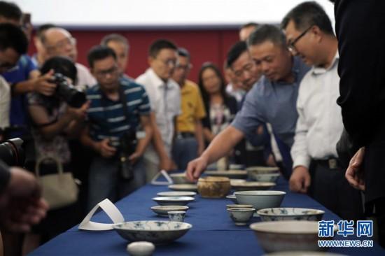 (文化)(4)190余件清代沉船瓷器入藏国博