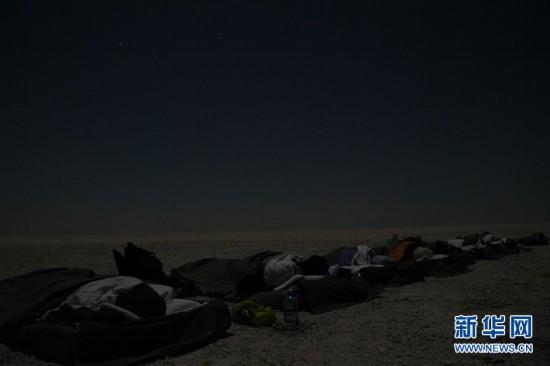 (国际)(1)在马卡迪卡迪盐沼过夜