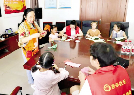 淮安区开展亲子阅读活动 受到社区居民欢迎