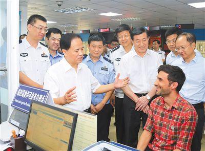 刘赐贵:做好新中国成立70周年大庆安保维稳工作为海南自贸试验区和自贸港建设营造良好环境
