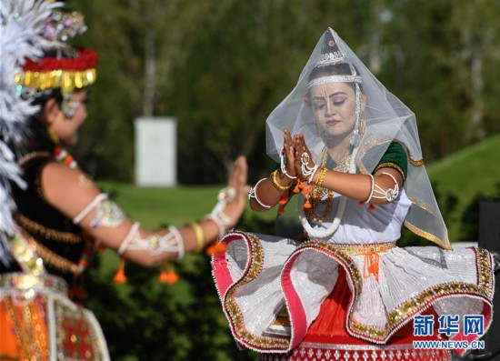 """(北京世园会)(8)北京世园会迎来""""印度国家日"""""""