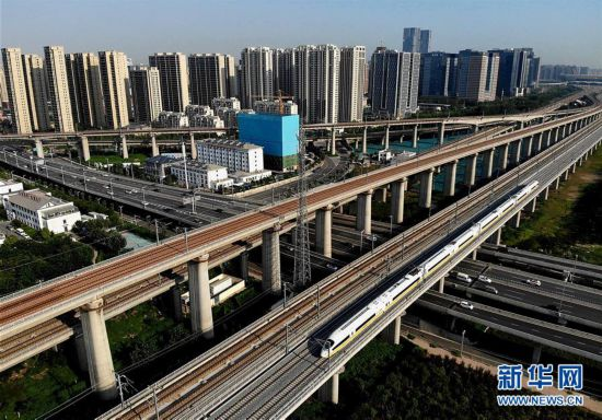 郑阜铁路河南段开始联调联试