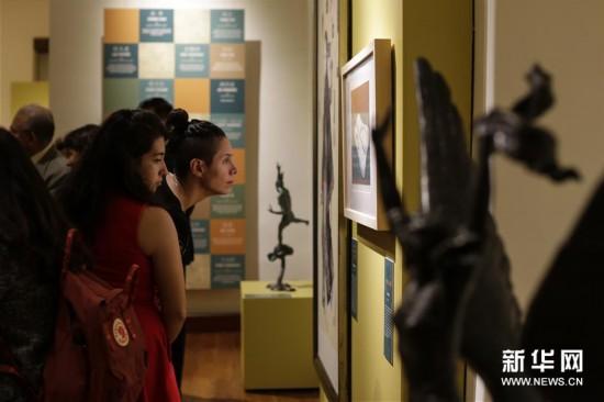 (国际)(2)中国当代美术作品展在墨西哥举行
