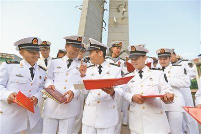 新型海军士官人才方阵加速成长