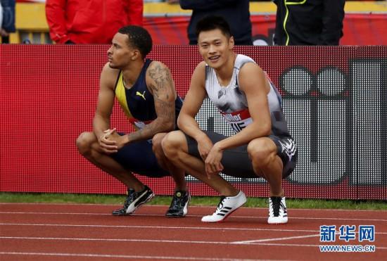 钻石联赛伯明翰站:谢震业获得男子百米第八名