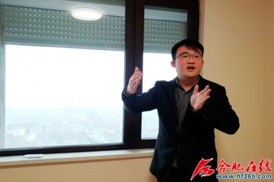 合肥学院建工系教师司大雄介绍被动房的优势