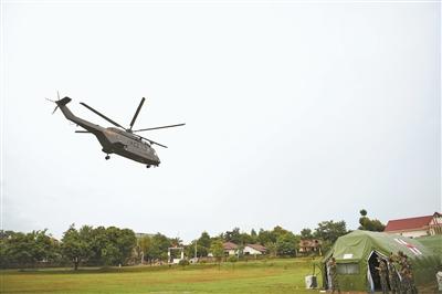 我新型救护直升机首次执行国际卫勤联演任务