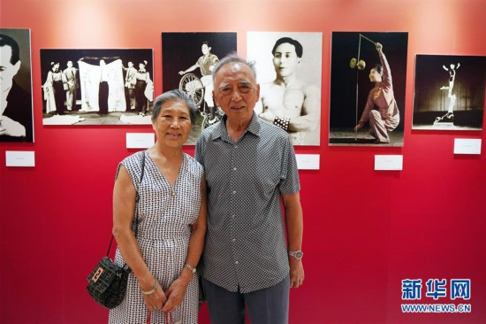 """(文化)(1)""""壮丽七十年  奋进新时代――新中国杂技成就展""""在京开幕"""