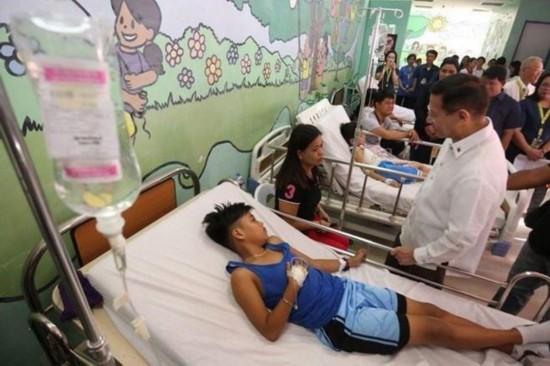 菲律宾爆发登革热疫情100多名中国工人感染