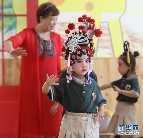 """(文化)(1)石家庄井陉:微水丝弦""""小艺人"""""""