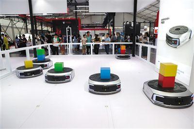 2019世界机器人大绝塞影会开幕700多机器人等你来打卡