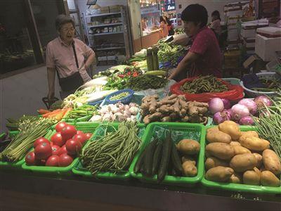 南京伏缺菜涨价不多 叶菜供应量充足价格没涨