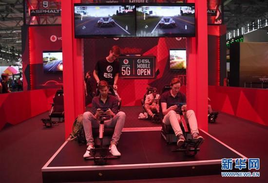 (国际)(1)第11届科隆国际游戏展开幕
