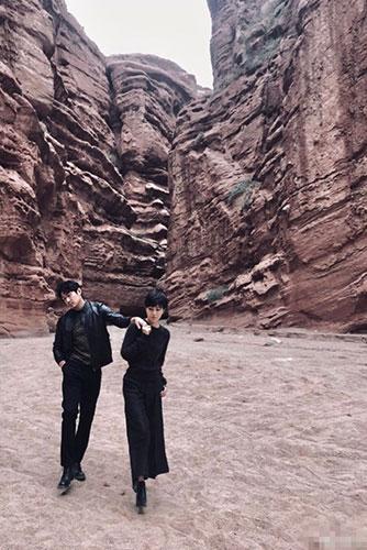 超酷!陆毅鲍蕾拍写真秀恩爱 结婚十三年依旧如初恋