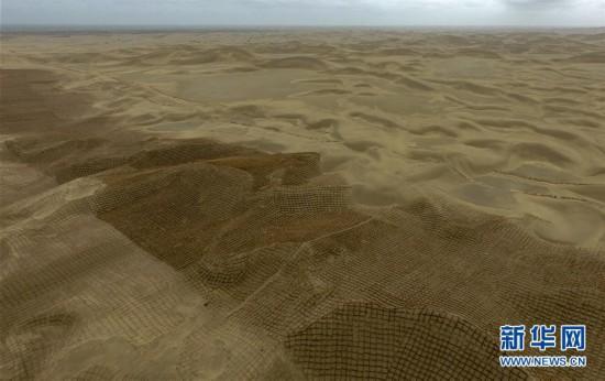 (环境)(2)雨后大漠景如画