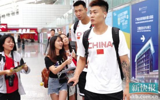 重量级热身赛今晚羊城开打中国男篮今晚迎战巴西