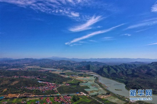 (环境)(1)河北迁西:矿区变景区