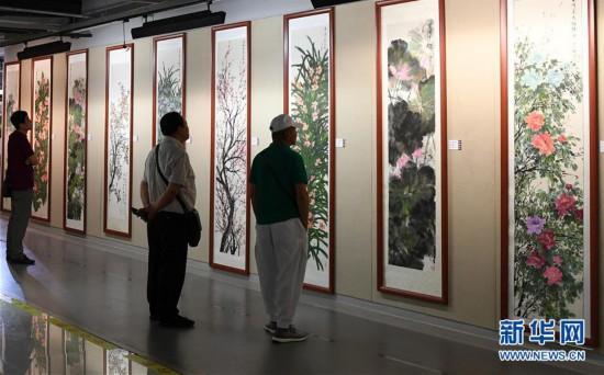 """(文化)(2)""""丝路画语""""绘画珍品展在吉林举行"""