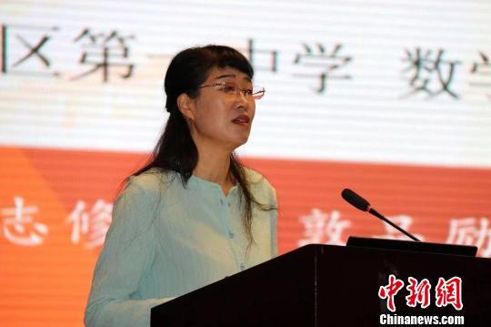 """内蒙古教师刘香琴""""花式教学法""""治愈学生""""数学恐惧症"""""""