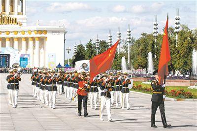 我军军乐团参加俄国际军乐节