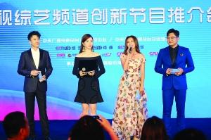 <b>央视综艺频道创新节目推�w介会在广州举行</b>
