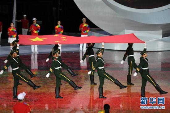 (体育)(2)全国第十届残运会暨第七届特奥会开幕式在天津举行