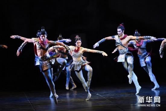 (国际)(9)中国芭蕾舞剧《花木兰》登陆纽约林肯中心
