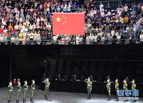 (体育)(5)全国第十届残运会暨第七届特奥会开幕式在天津举行