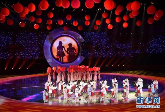 (体育)(40)全国第十届残运会暨第七届特奥会开幕式在天津举行