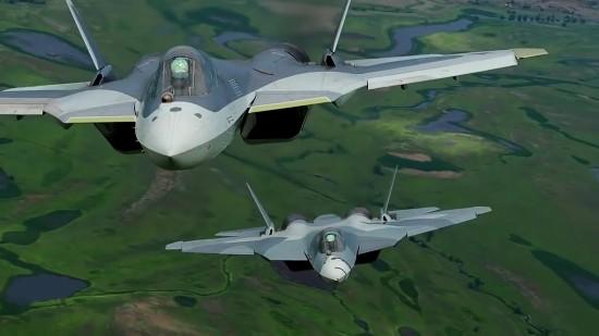 苏57E将摧毁美国五代机垄断多国表现出极大兴趣
