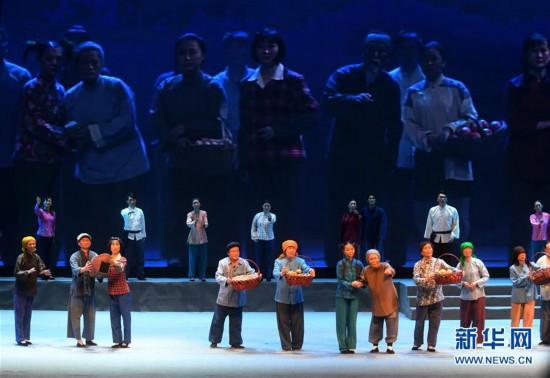 (文化)(5)现代评剧《焦裕禄》在河北大厂上演
