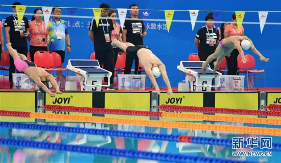 (體育)(7)游泳——殘運會:楊博尊獲正式開幕后首枚金牌