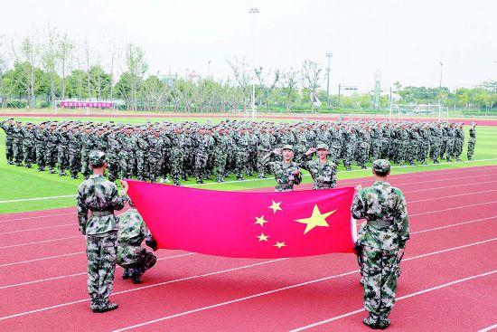 盐都组织役前新兵训练 提高预定新兵军政素质