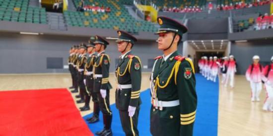第十一届全国民族运动会赛会志愿者出征仪式在郑举行