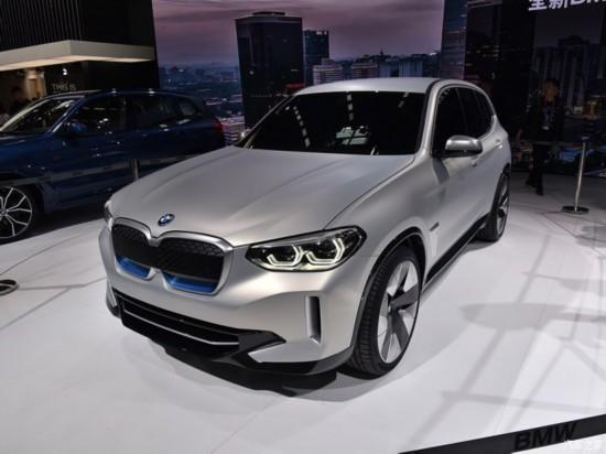 全新纯电动SUV宝马iX3将于2020年率先在欧洲上市